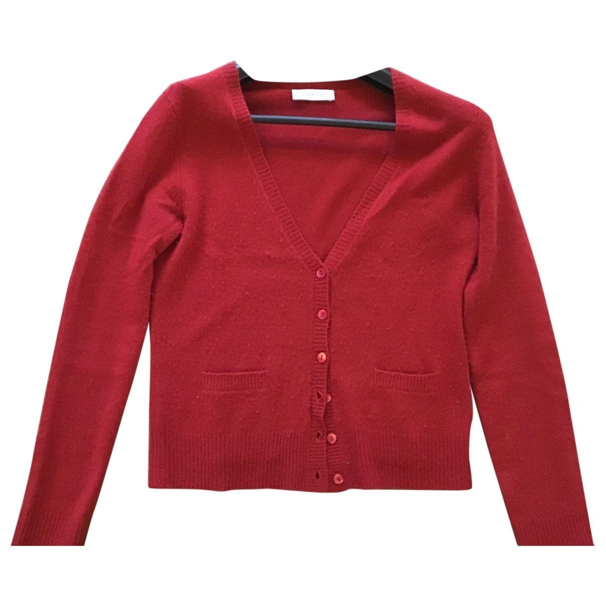 Intrend \N Red Cashmere Knitwear for Women 44 IT