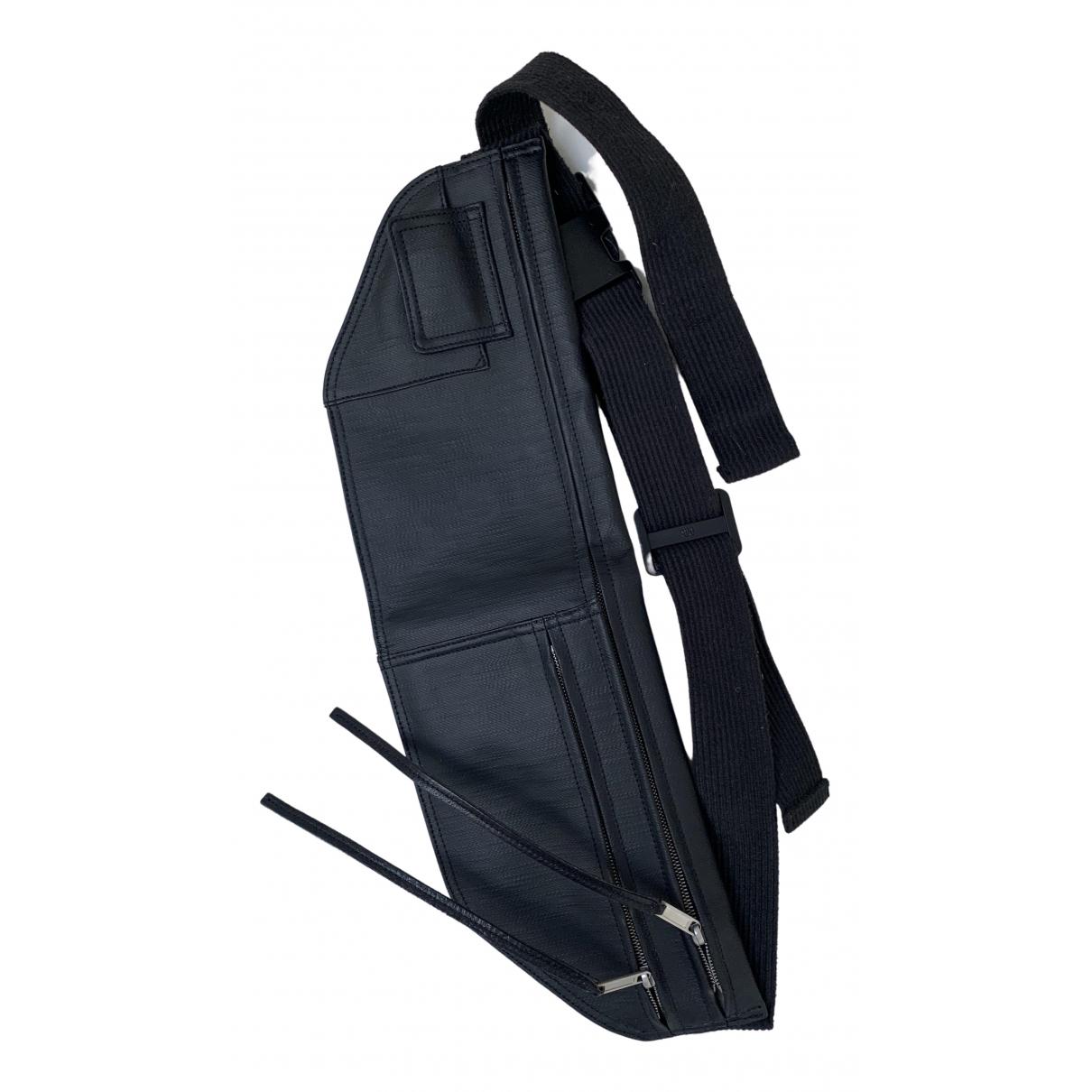 Rick Owens \N Black Leather bag for Men \N