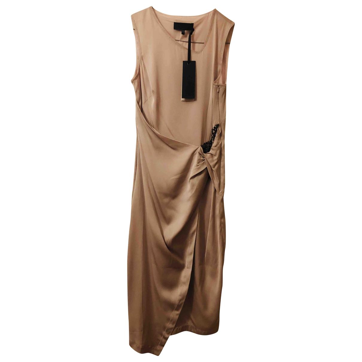 Vestido midi de Seda Bastyan