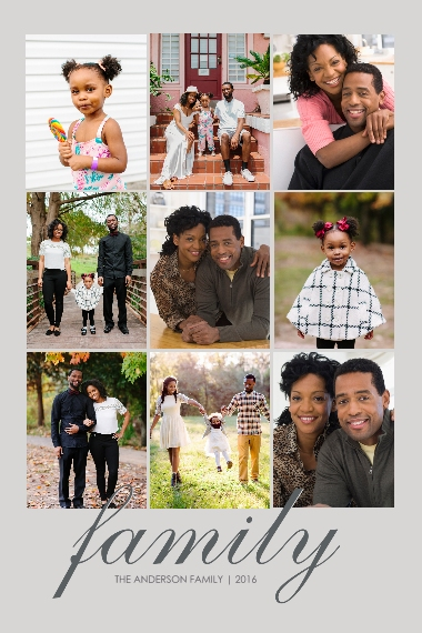 Family + Friends 24x36 Poster , Home Décor -Family Classic