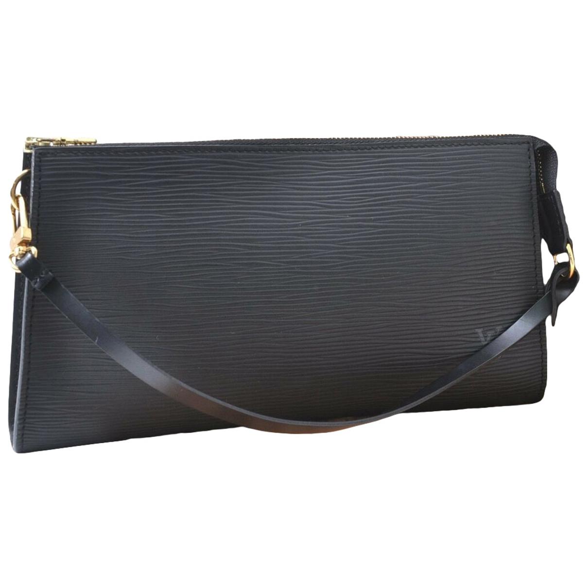 Louis Vuitton - Pochette Pochette Accessoire pour femme en cuir - noir