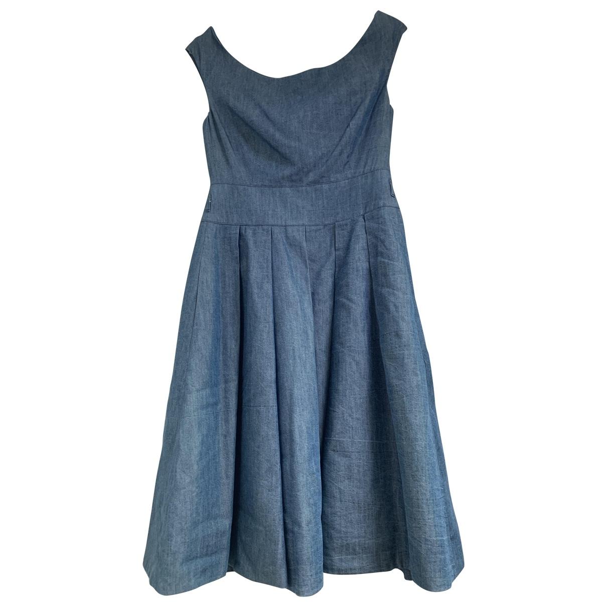 Blumarine \N Blue Denim - Jeans dress for Women 42 IT