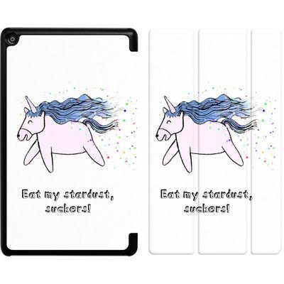 Amazon Fire HD 8 (2018) Tablet Smart Case - Eat my stardust von caseable Designs
