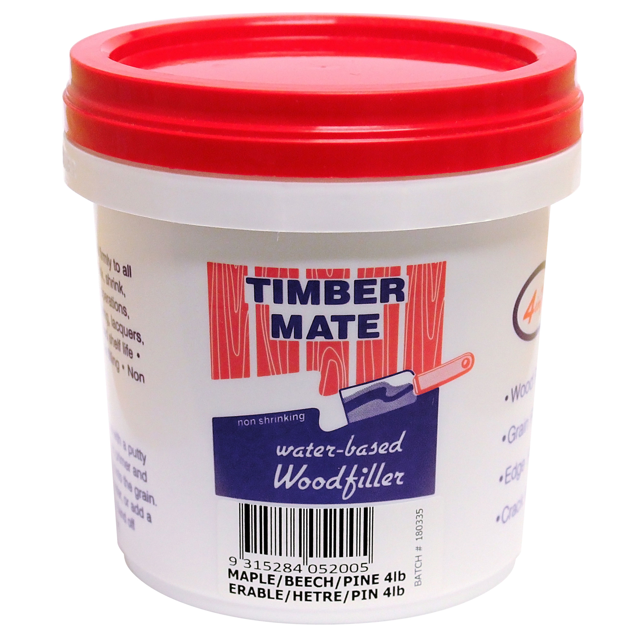 Maple Beech Filler Water Based 4lbs