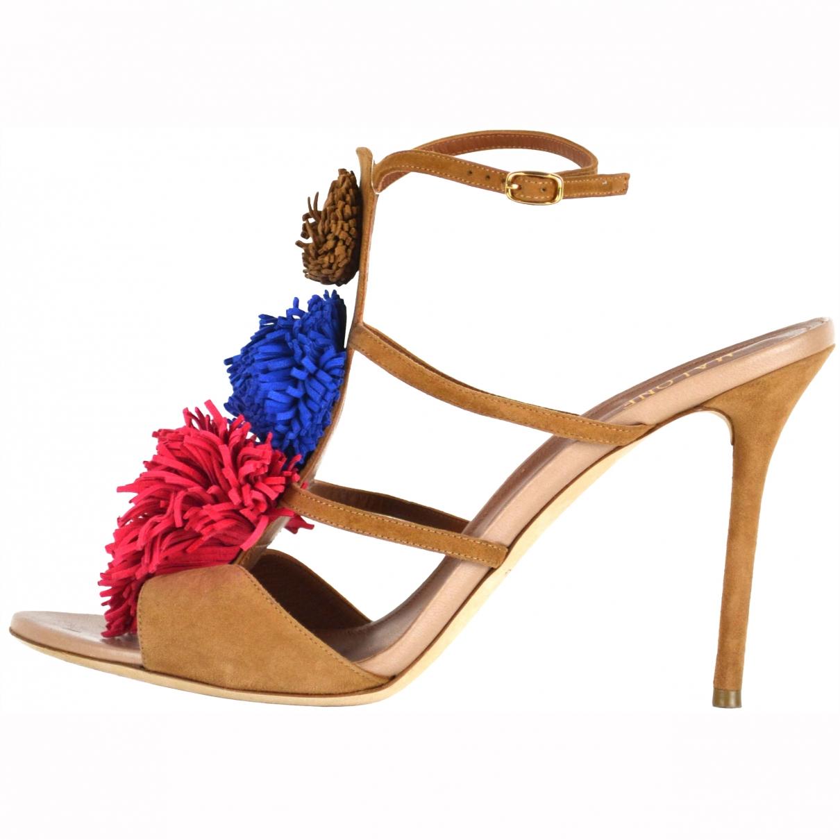 Malone Souliers \N Multicolour Suede Sandals for Women 42 EU