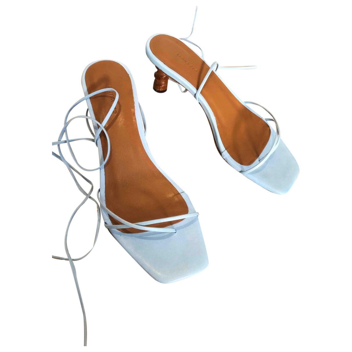 Sandalias romanas de Cuero Rejina Pyo