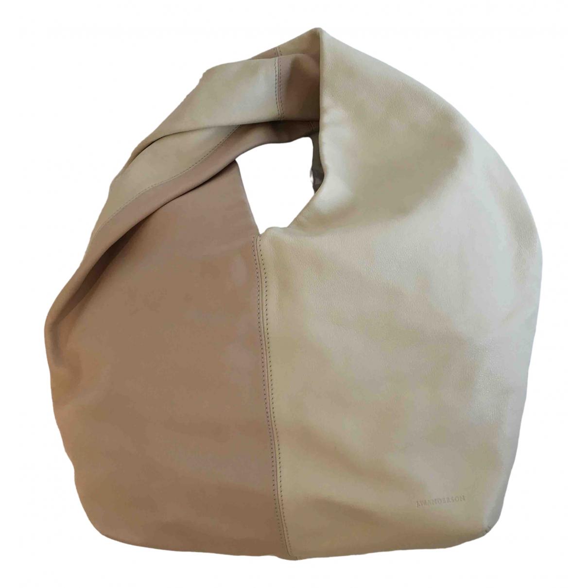 J.w. Anderson \N Handtasche in  Weiss Leder