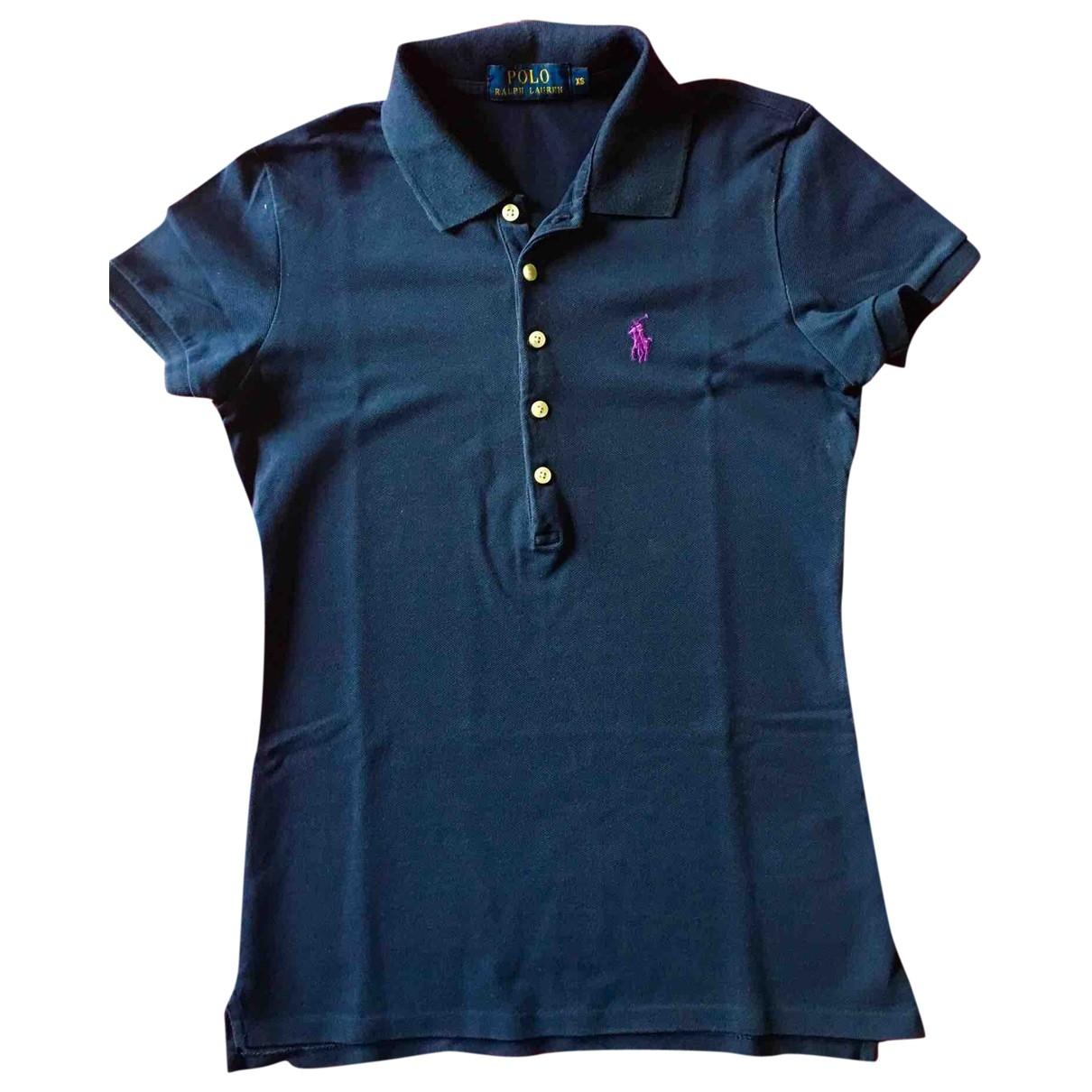 Polo Ralph Lauren \N Blue Cotton  top for Women XS International