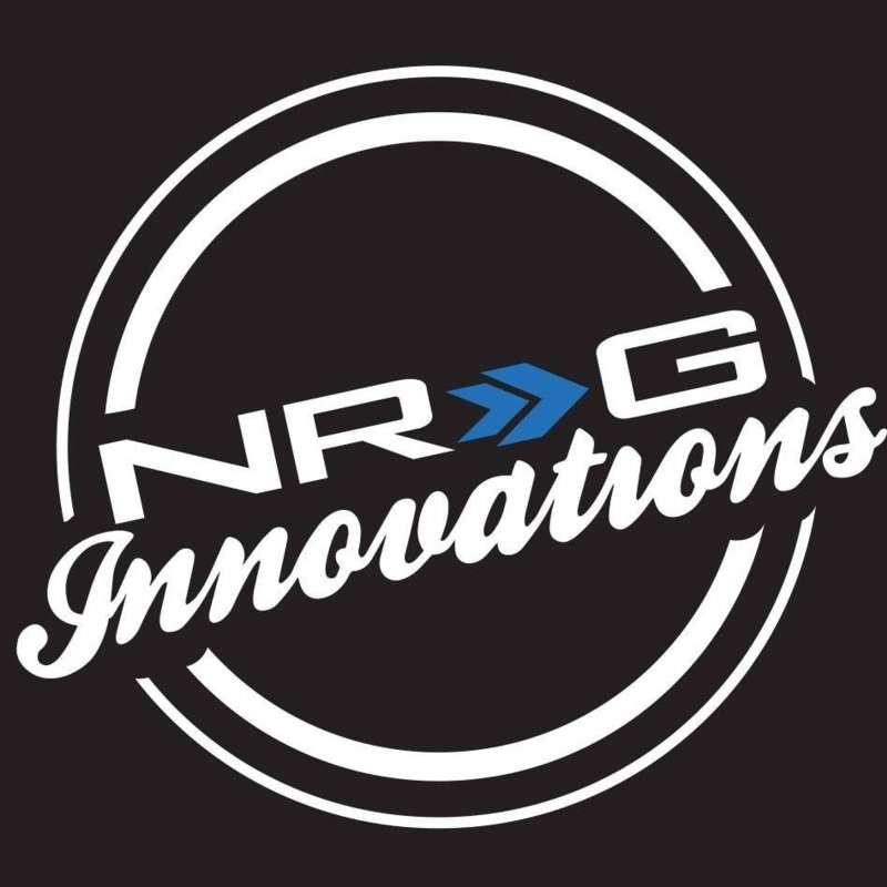 NRG VS-100BK Aluminum Sport Style Valve Stem Cap Black