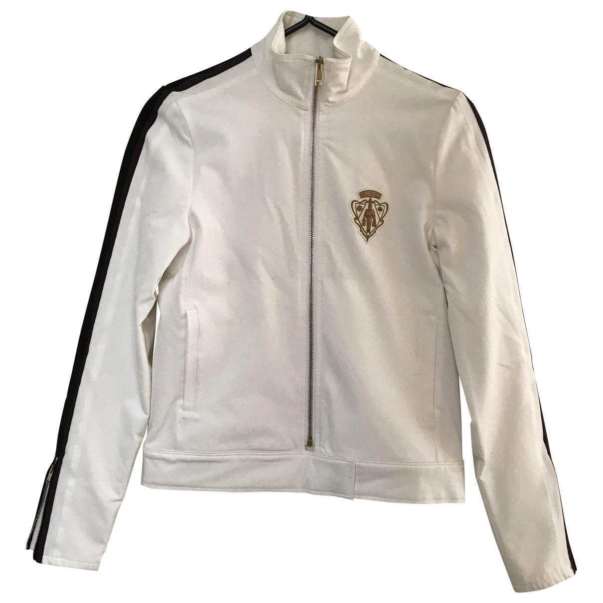 Gucci - Veste   pour femme en coton - blanc