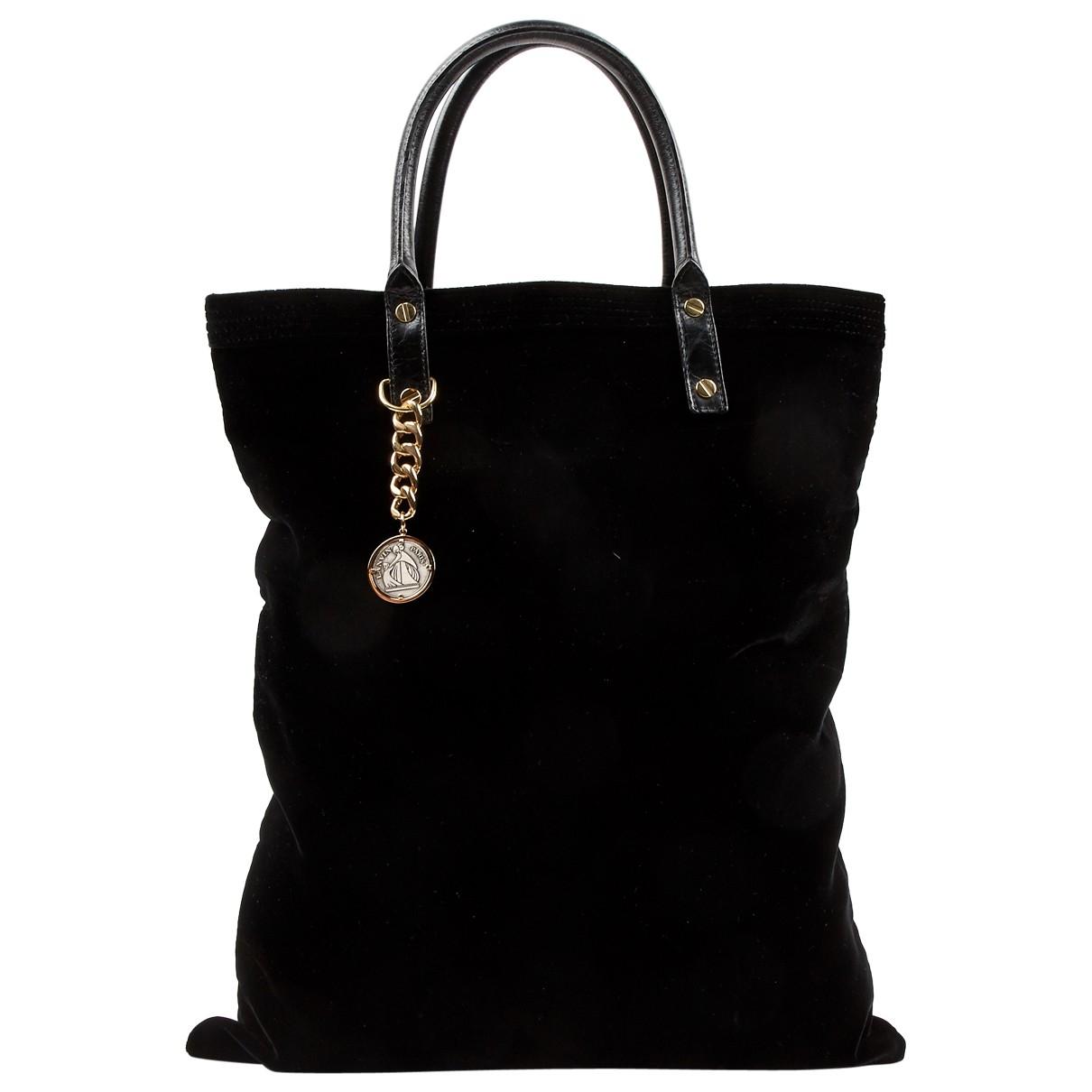 Lanvin \N Black Velvet handbag for Women \N
