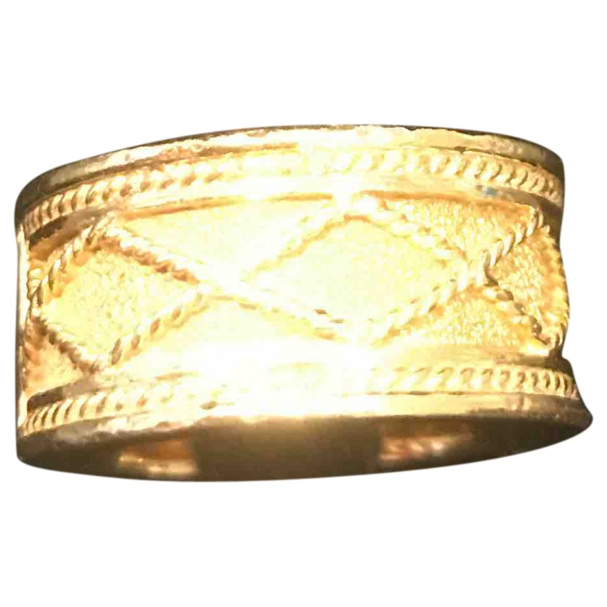 Yanes - Bague   pour femme en or jaune - jaune