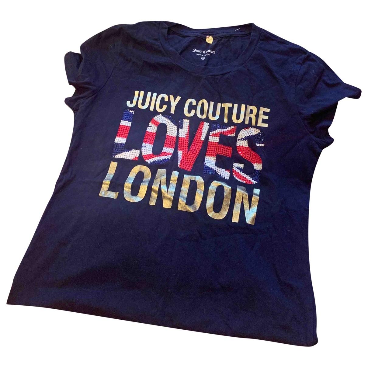 Juicy Couture \N Top in  Marine Baumwolle