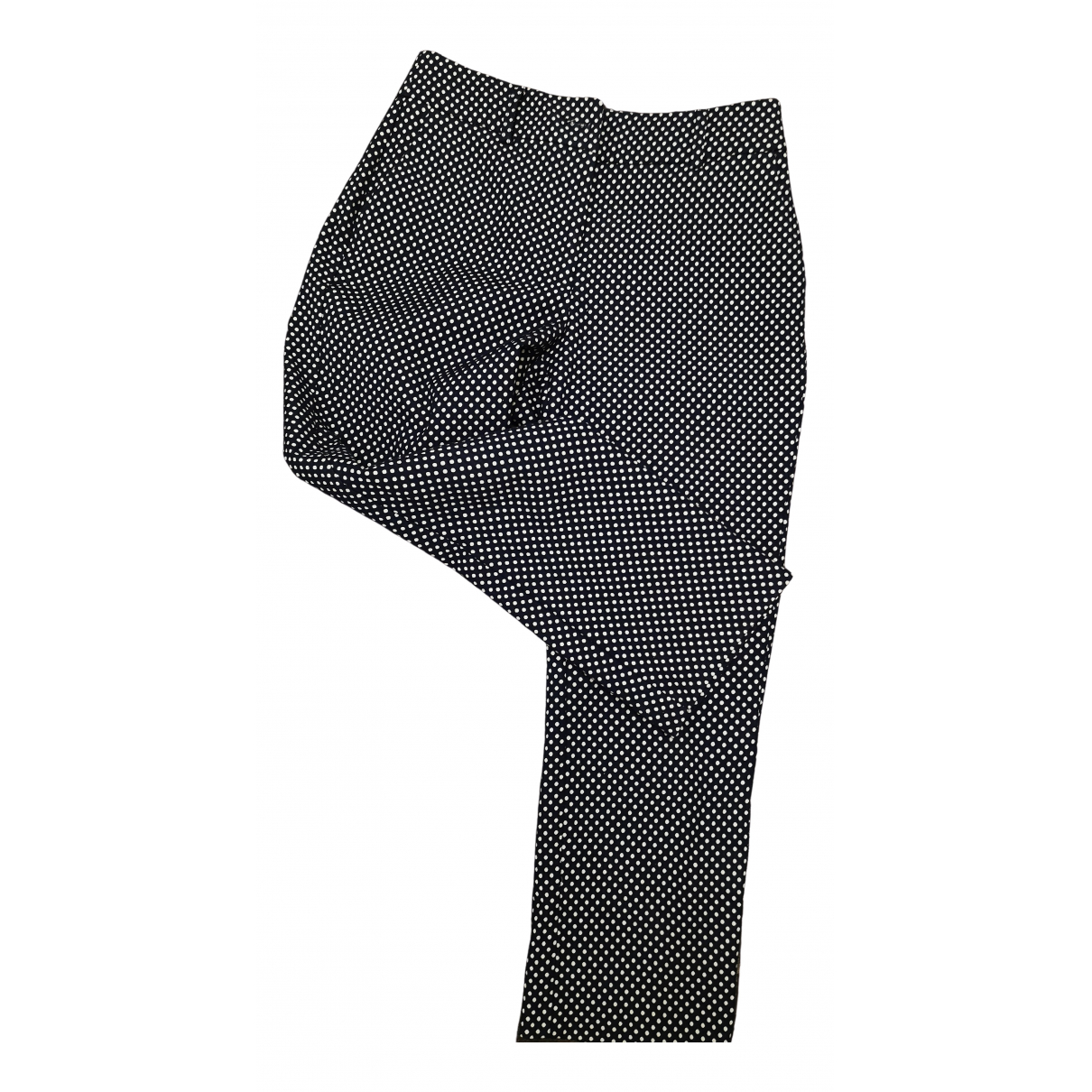 Guess \N Blue Spandex Trousers for Women 42 IT