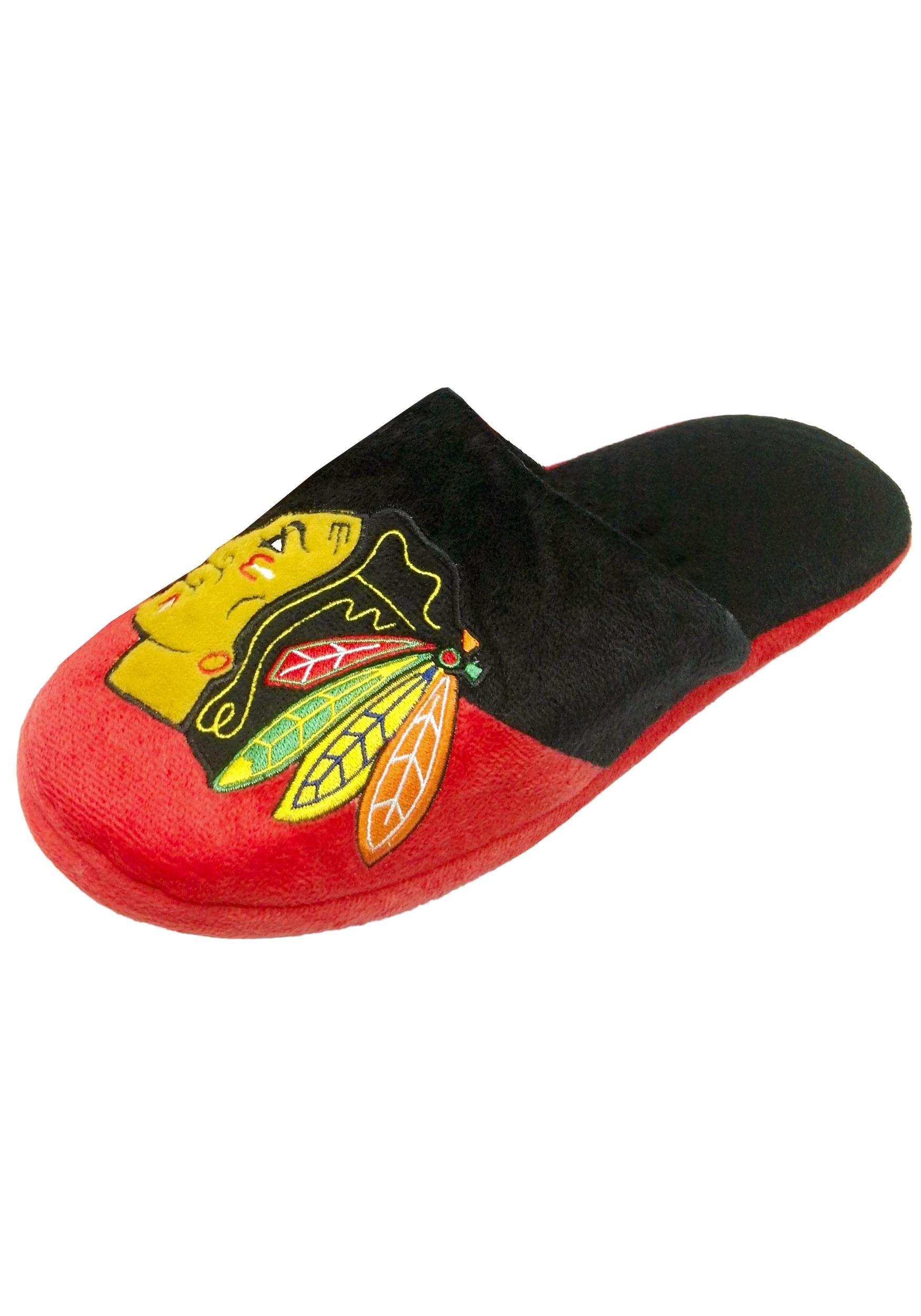Chicago Blackhawks Colorblock Slide Slippers
