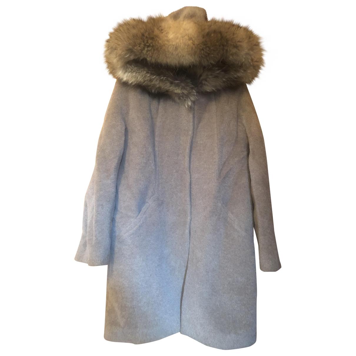Sprung Frères \N Brown Fur coat for Women 38 FR