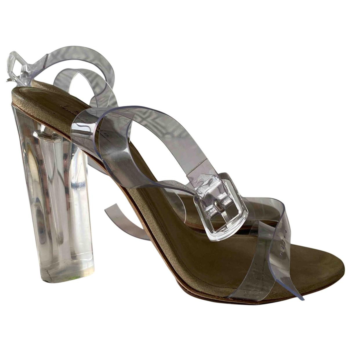 Yeezy - Sandales   pour femme - beige