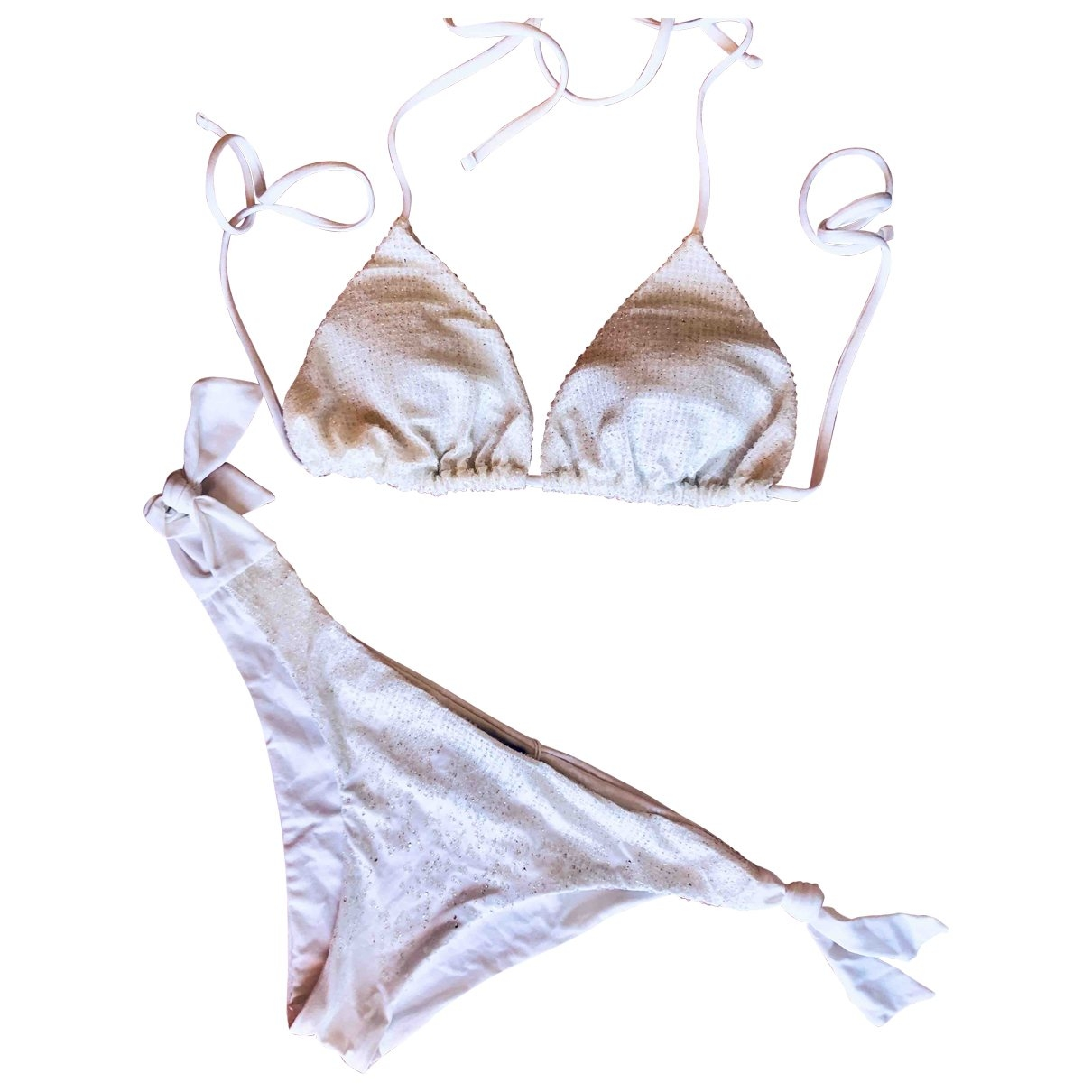 Non Signé / Unsigned \N White Swimwear for Women \N