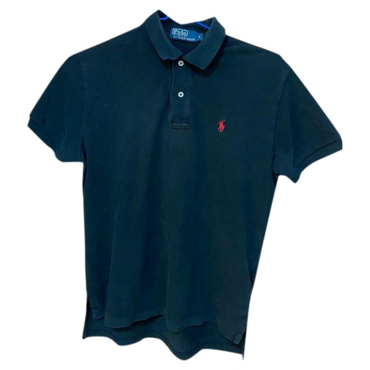 Polo Polo ajuste manches courtes en Algodon Negro Polo Ralph Lauren