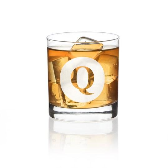 Hortense B. Hewitt Co. Engraved Drinking Glass | Alphabet Q | 11 oz | Michaels®