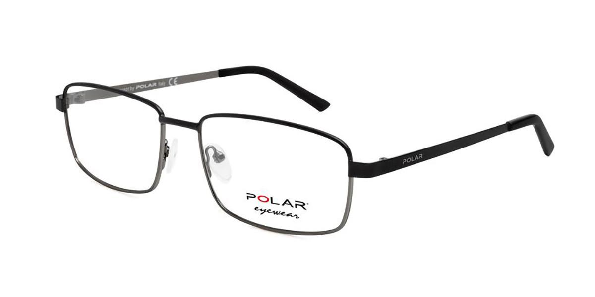 Polar PL 886 48 Men's Glasses Black Size 55 - Free Lenses - HSA/FSA Insurance - Blue Light Block Available