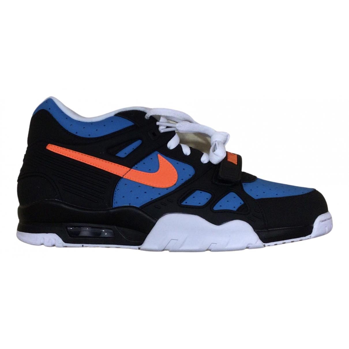 Nike - Baskets   pour homme en caoutchouc - bleu