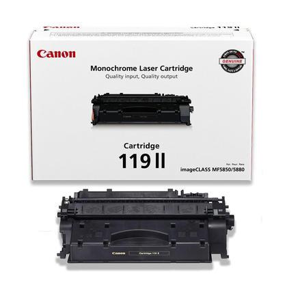 Canon 119X 3480B001AA Original Black Toner Cartridge High Yield