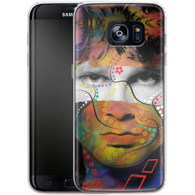 Samsung Galaxy S7 Edge Silikon Handyhuelle - Rockstar von Mark Ashkenazi