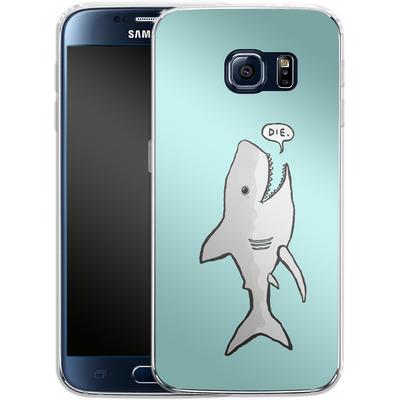 Samsung Galaxy S6 Silikon Handyhuelle - Die von caseable Designs