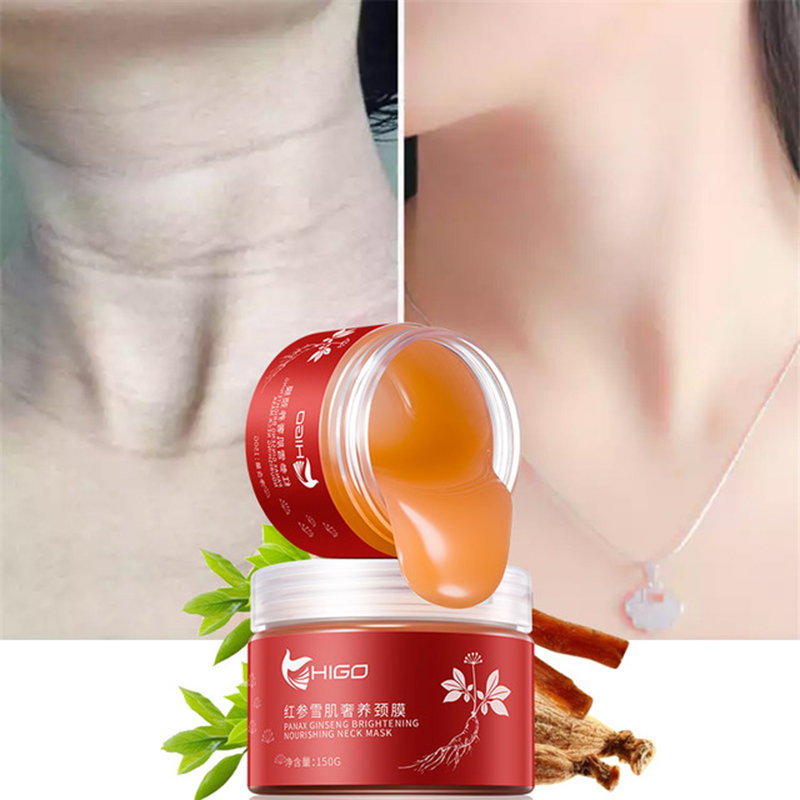 Red Ginseng Neck Membrane Lifting Firming Moisturizing Fade Fine Lines Neck Care