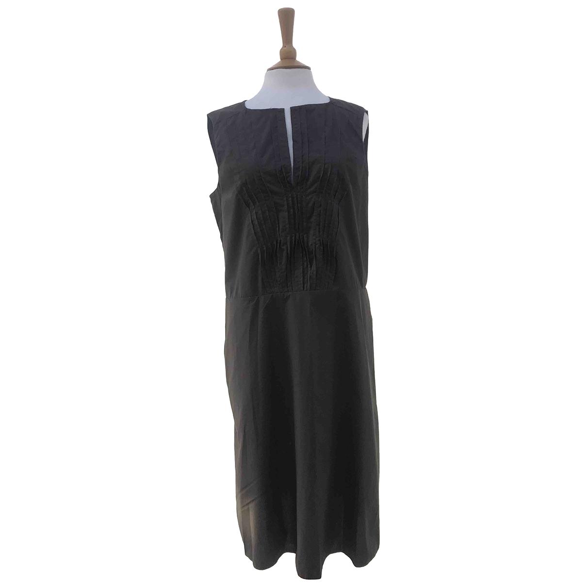 Marni \N Brown Cotton dress for Women 42 IT