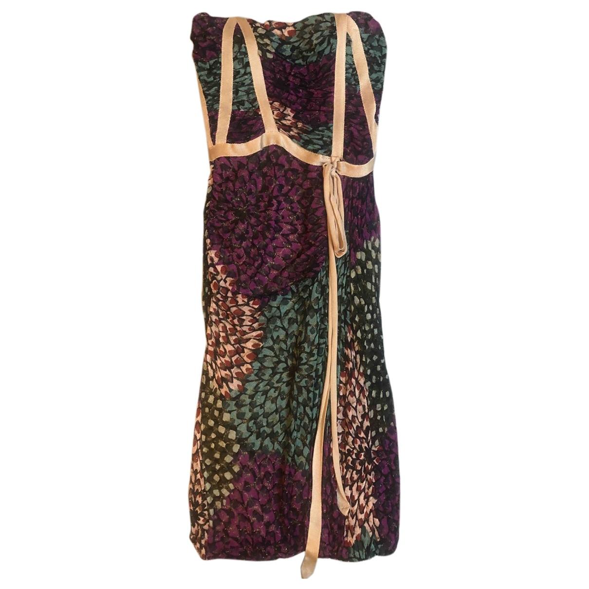 Missoni \N Multicolour Cotton - elasthane dress for Women 40 IT