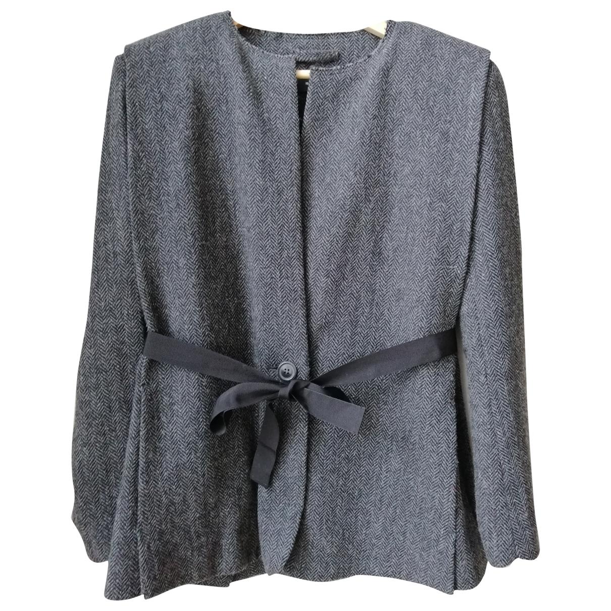 Isabel Marant \N Anthracite Wool jacket for Women 40 FR