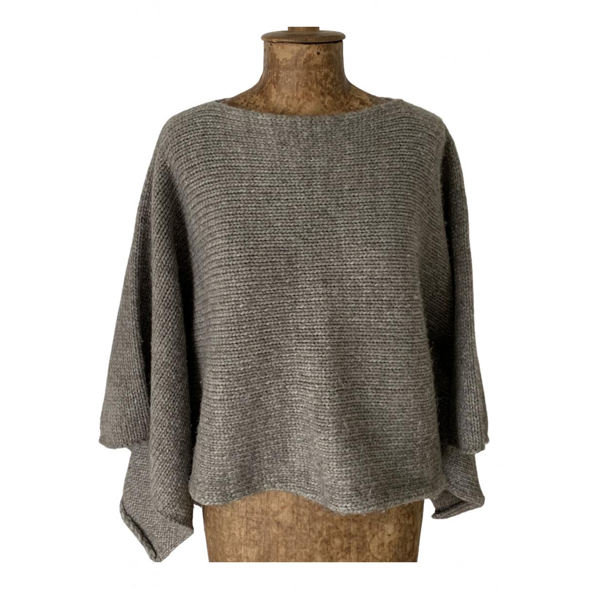 Stefanel \N Grey Wool Knitwear for Women One Size FR