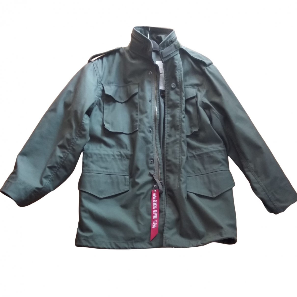 Alpha Industries \N Green Cotton jacket  for Men S International