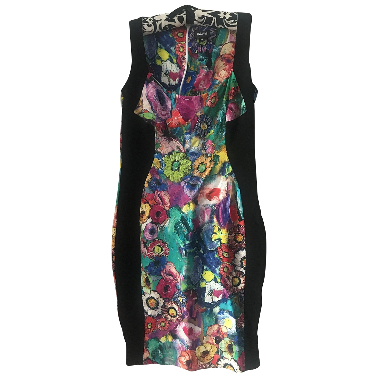 Just Cavalli \N Kleid in  Bunt Viskose