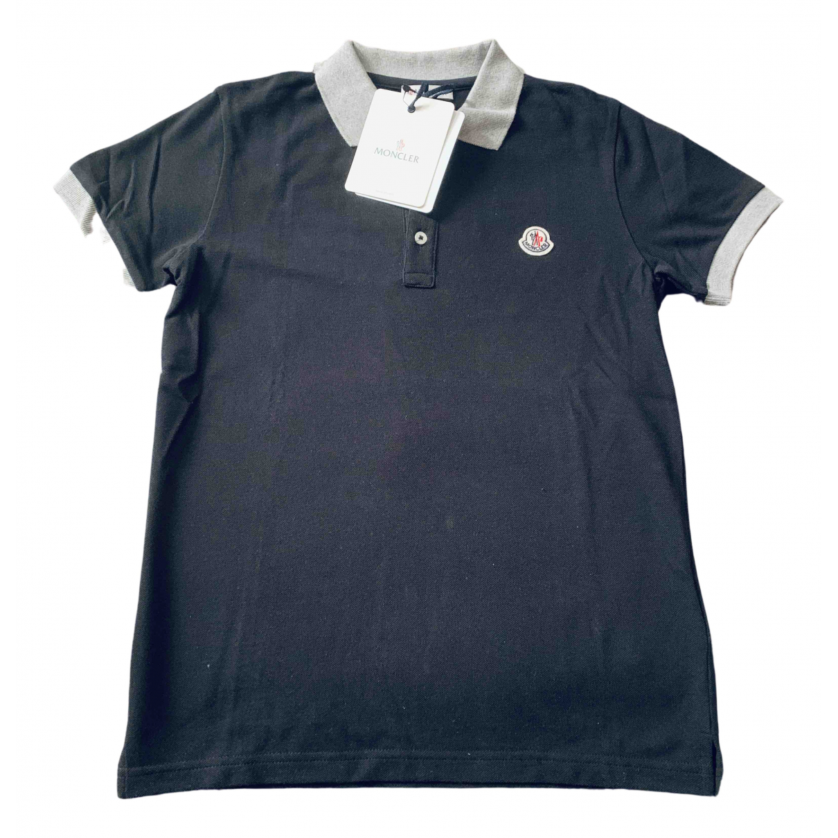 Moncler N Blue Cotton  top for Kids 10 years - up to 142cm FR