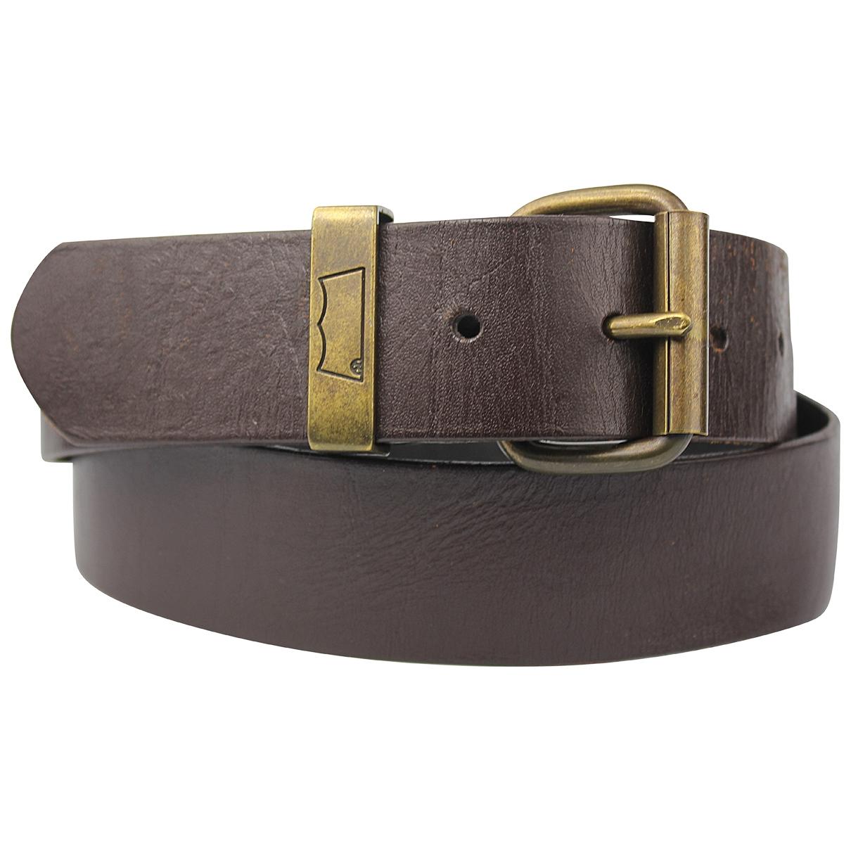 Levis \N Brown Leather belt for Men 90 cm
