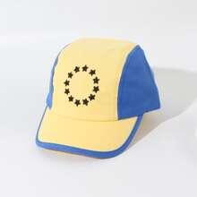 Kleinkind Jungen Baseball Hut mit Farbblock