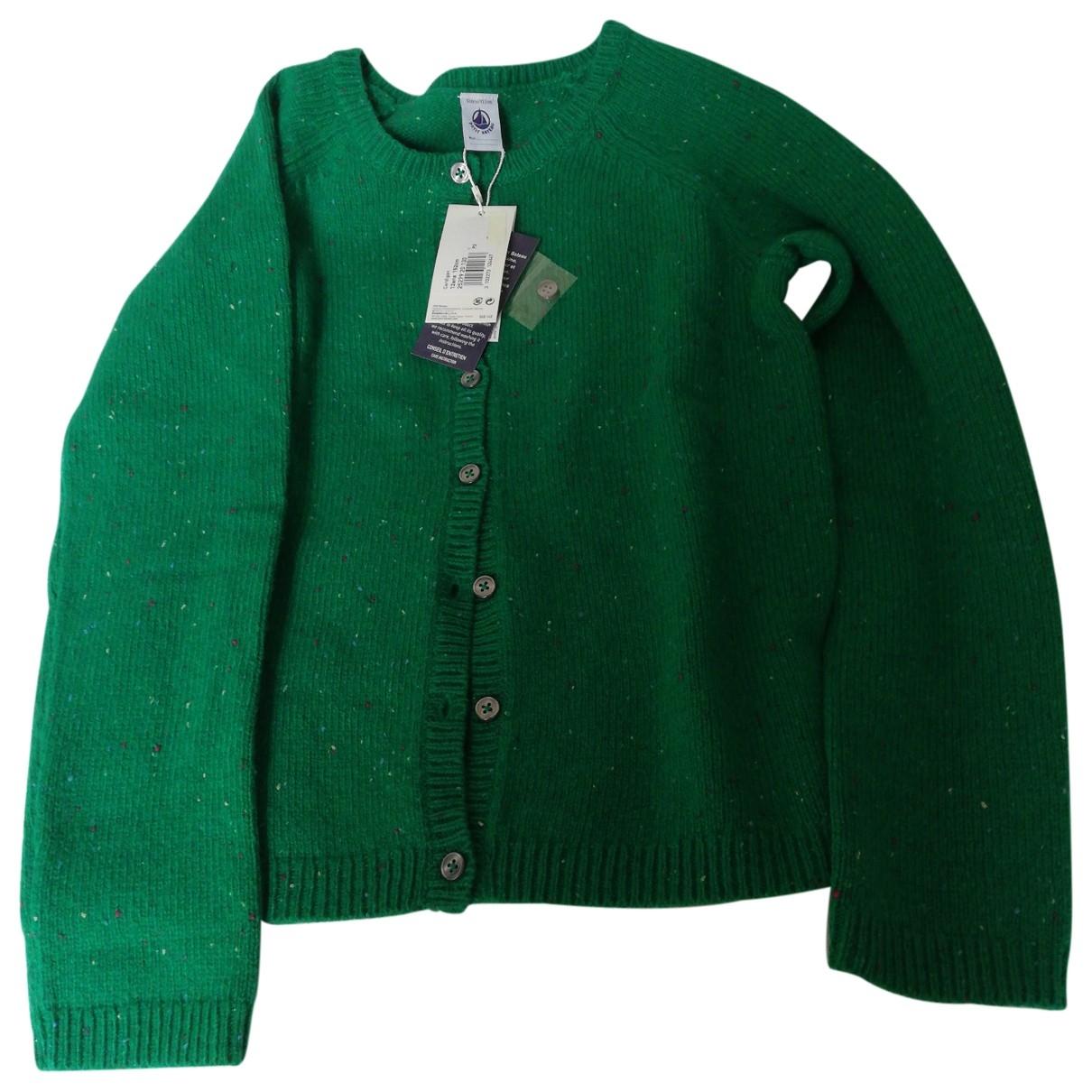 Petit Bateau \N Green Wool Knitwear for Kids 12 years - XS FR
