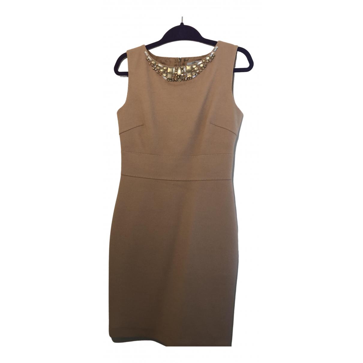 Blumarine \N Kleid in  Beige Kaschmir