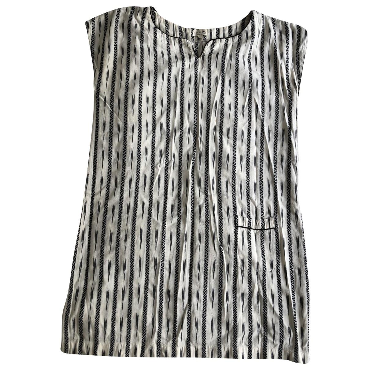 & Stories \N Ecru Cotton dress for Women 40 FR