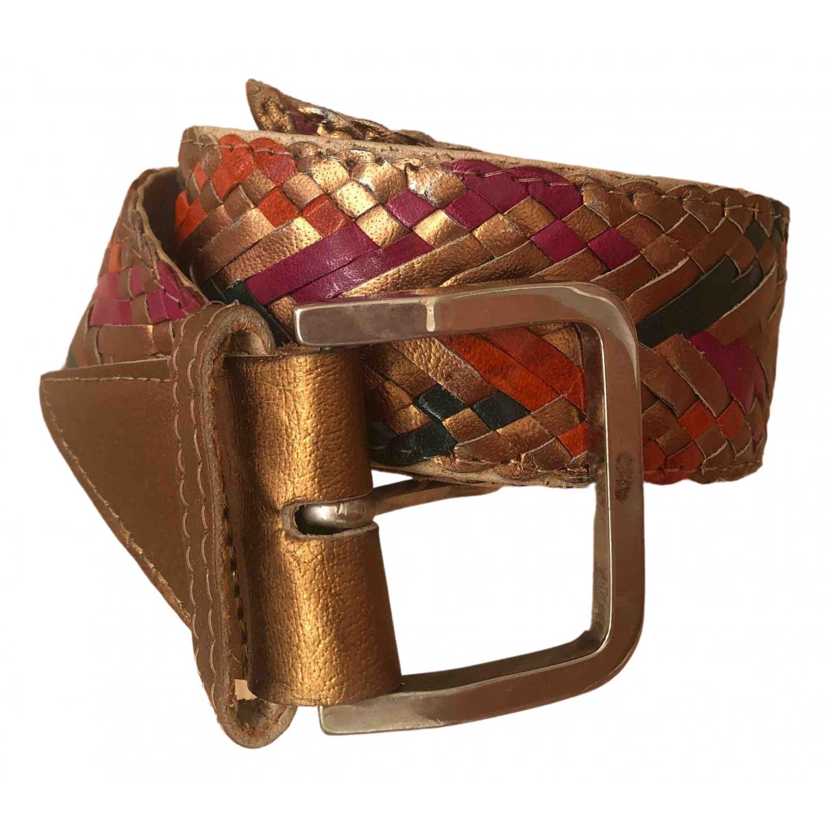 Cinturon de Cuero Sergio Rossi