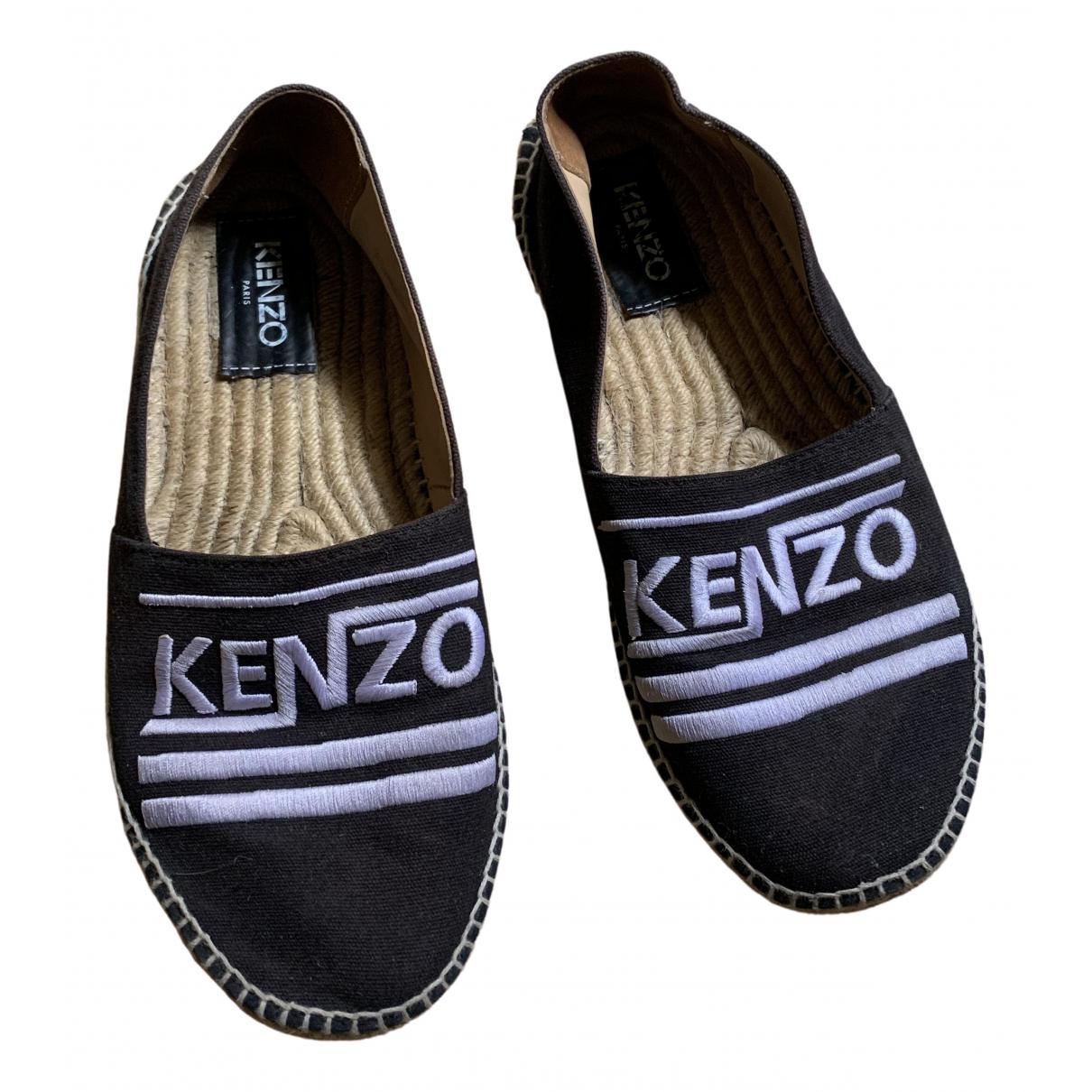 Kenzo \N Espadrilles in  Schwarz Polyester