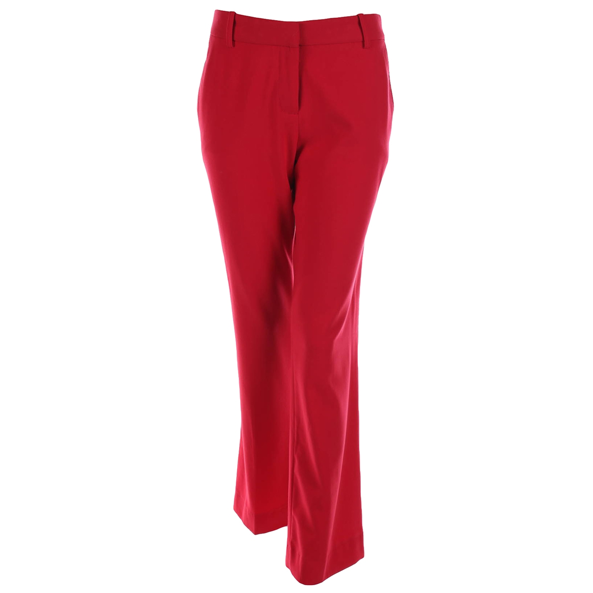 Bcbg Max Azria \N Red Trousers for Women 6 US
