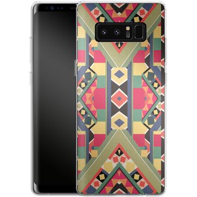 Samsung Galaxy Note 8 Silikon Handyhuelle - BOLD von Bianca Green