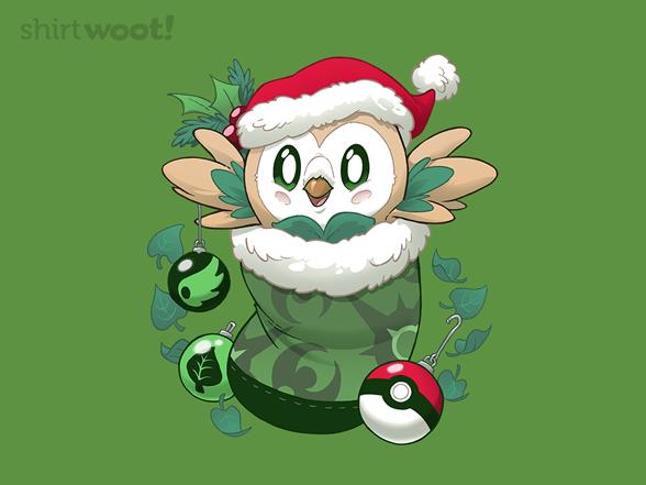 Pocket Owl Stocking Stuffer T Shirt