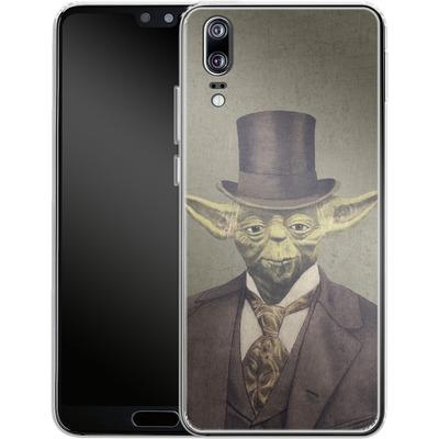 Huawei P20 Silikon Handyhuelle - Sir Yodington von Terry Fan