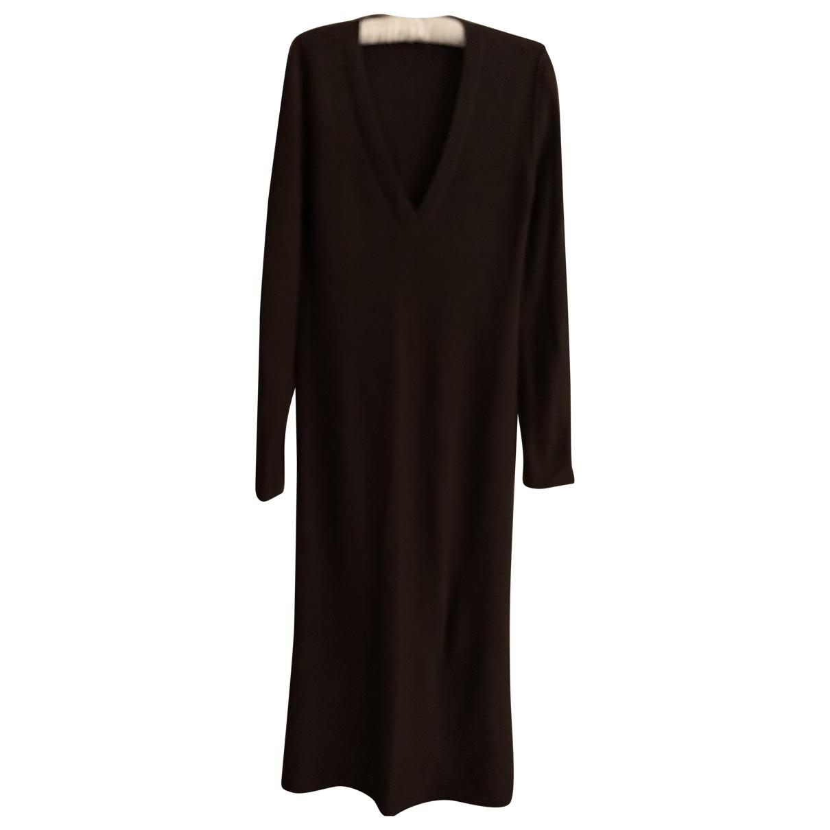 Chloe \N Kleid in  Braun Wolle
