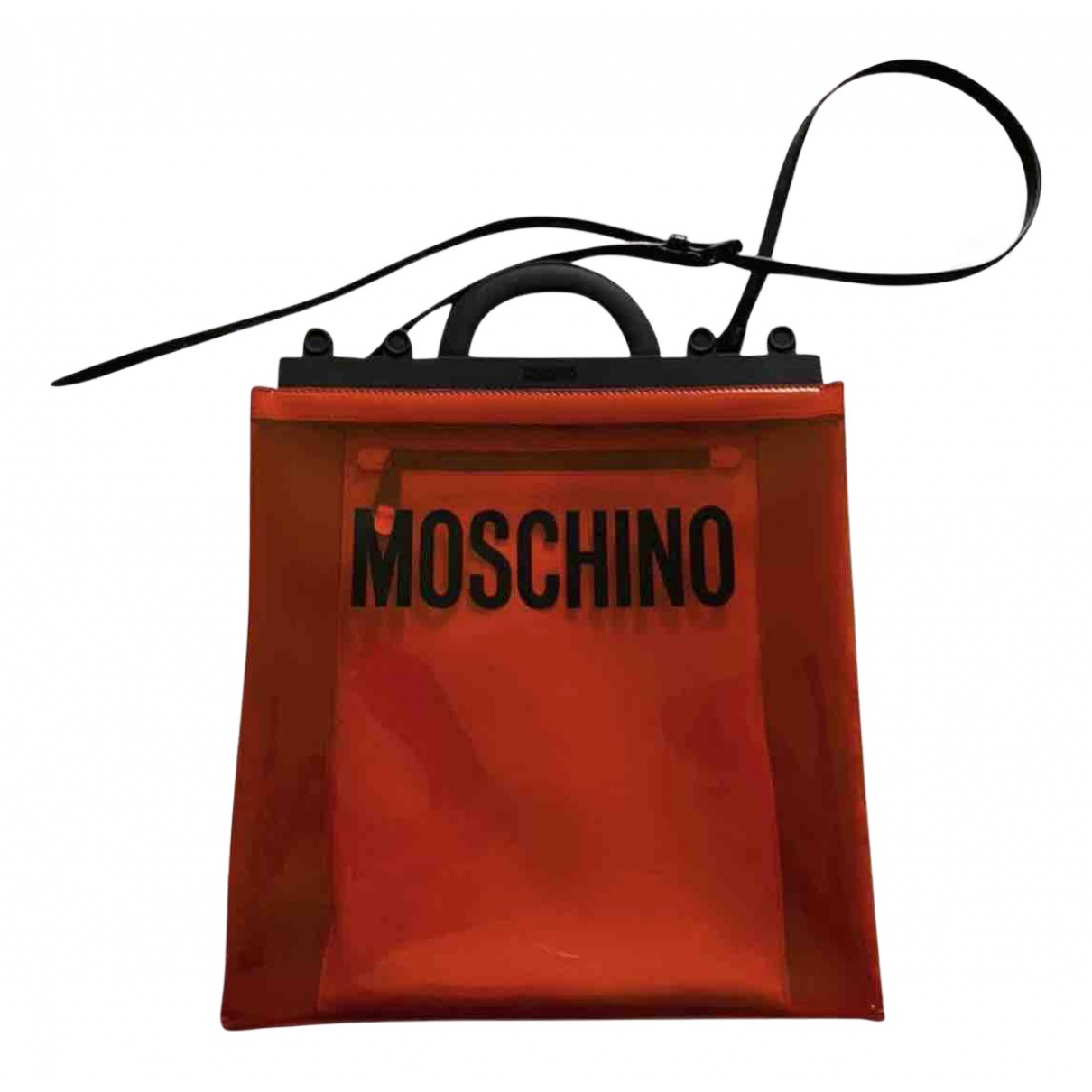Moschino - Sac a main   pour femme - orange